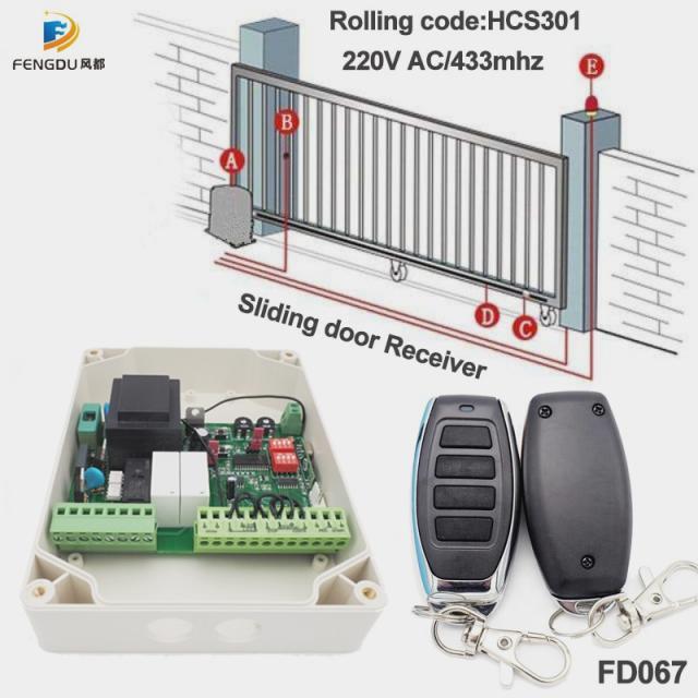 Пульт управления дверью